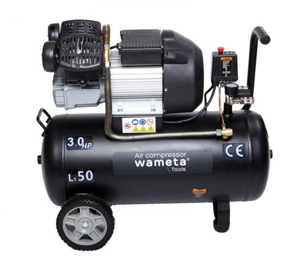 Wameta-kompressori 22KW, 50 litraa.